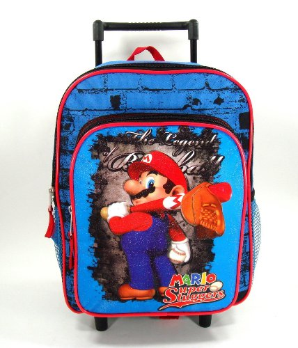 Nintendo Brothers Toddler Rolling Backpack