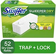 Swiffer Sweeper Dry Mop Refills for Floor Mopping and Cleaning, All Purpose Floor Cleaning Product, Unscented,