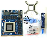 NVIDIA GeForce GTX 980M; 8GB DDR5; MXM 3.0b; 100W; Upgrade Kit with X-Bracket, Screws, Thermal Pads, ICD7 Thermal Paste; for Clevo Notebooks