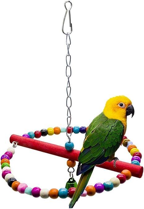 Ovsler Juguetes Para Agapornis Para Jaula Juguetes Para Periquitos Loro De Juguete Juguetes De Pájaros Para Pájaros Loro Loro Juguetes Budgie Juguetes Amazon Es Hogar
