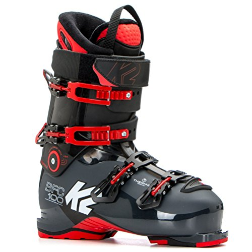 (K2 B.F.C. 100 Ski Boots 2019-27.5/Dark Gray-Red)