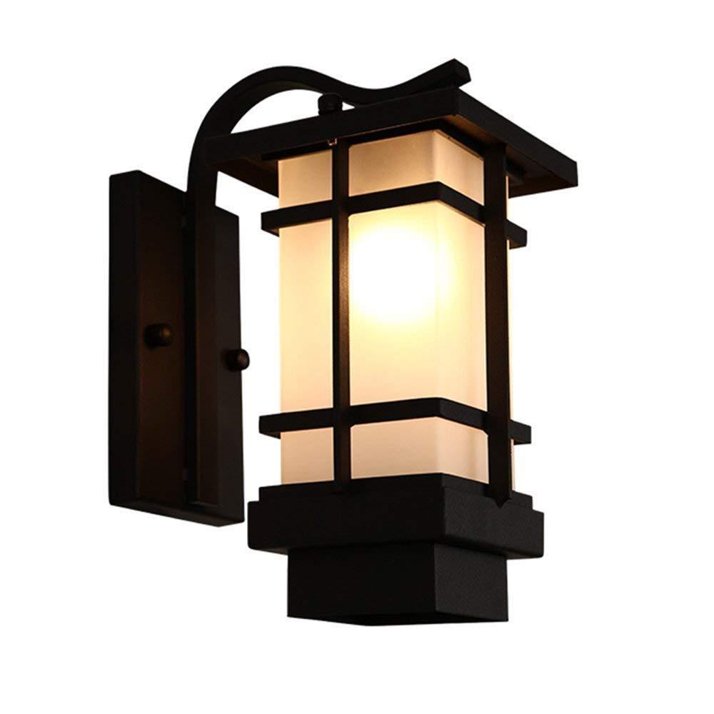WHKHY Chinese Outdoor Irons Wall Lamp Artistic Villa Outdoor Waterproof Lamps Retro Wall Lights Walk