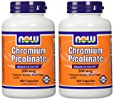 Now Foods Chromium Picolinate 200mcg-250 Capsules- 2-pack Review