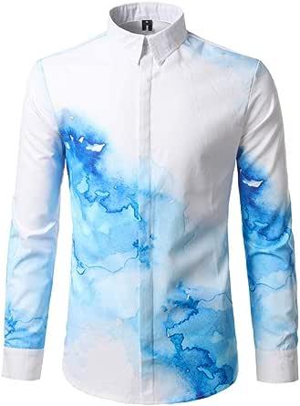 Yvelands otoño Verano de los Hombres Pretty Noble Camiseta de ...