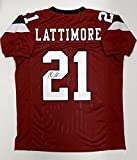 Signed Marcus Lattimore Jersey - College Style Maroon Witnessed Auth - JSA Certified - Autographed NFL Jerseys