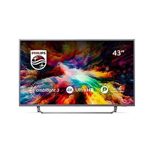 chollos oferta descuentos barato Philips 7300 Series Televisor 4K Ultraplano con Tecnología Android TV 43Pus7303 12