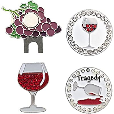 Giggle Golf - Wine Not Ball Marker Pack