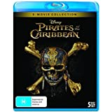 Pirates Of The Caribbean: 5 Movie Collection [Blu-ray]
