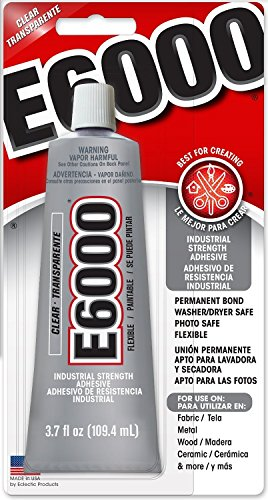 217ba6f9ed28 Eclectic Products 230012 3.7 oz Amazing E-6000 Craft Adhesive Uncarded