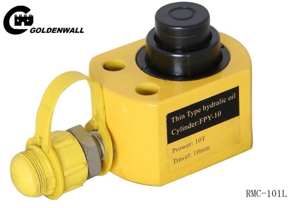 CGOLDENWALL RMC-101L201L301L501L1001L多層ピストン油圧ジャッキ 超薄型シリンダー CP-700ポンプ付  (RMC-101L) B074X6K15H RMC-101L