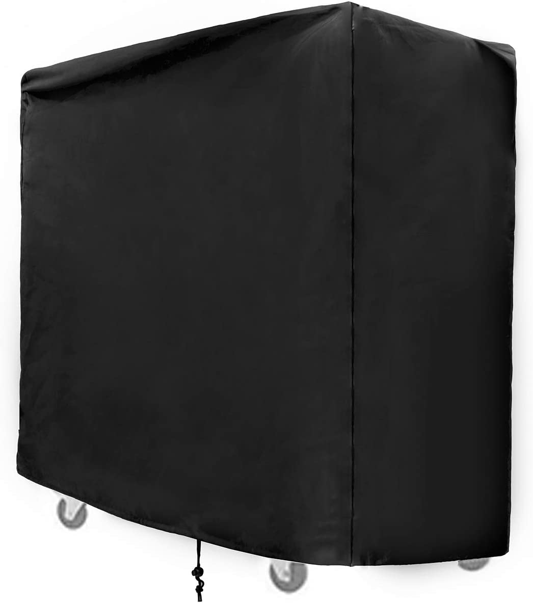 SIRUITON Cooler Cart Cover Fit for Most 80 QT Rolling Patio Cooler Cover Waterproof -24 Months of sue 37.4 x 19.68 x 36.22in