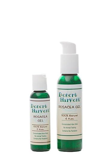 Amazon Com Desert Harvest Rosacea Gel 2 Oz Safely Relieve The