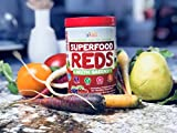 Doctor-Formulated Superfood Vital Reds With Greens Made with Organic Ingredients Vitamins amp Minerals Whole Food Powder - Fruits Veggies Probiotics Digestive Enzymes amp 50 Polyphenols Discount