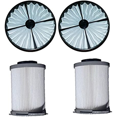 2 Sets Hoover 59134050 59134033 Windtunnel HEPA Canister Vacuum Filters Kit Models S3755050 S3755 S3755080 S3765040