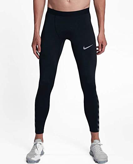 5b4b0a2ae1b5 Image Unavailable. Image not available for. Color  Nike Men s Dri-Fit Power  Tech Flash Reflective Running Tights ...