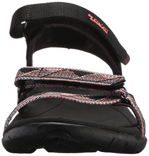Teva Womens Verra Sandal Surf Black/Multi 4Lill