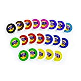 Colorations Washable Stamp Pad Bucket - 20 Pieces (Item # NIFTY)