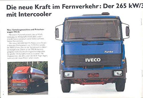 Amazon.com: 1987 Iveco Magirus Daily MK M T Truck Brochure German: Entertainment Collectibles