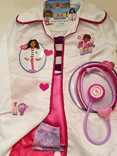 Disney Doc McStuffins Toy Hospital Doctor Dress Up (Doc Mcstuffins Dress)