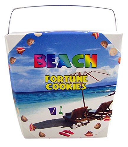 Creative Cookie Beach Themed Fortune Cookies, 2 oz