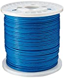 Tripp Lite Cat6 Gigabit Bulk Solid PVC Cable Blue, 1000-ft.(N222-01K-BL)