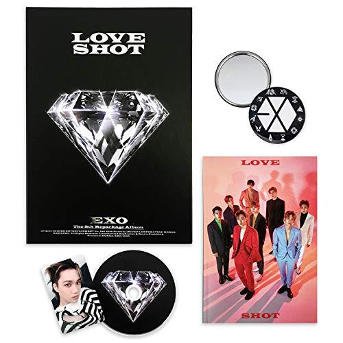 EXO 5th Repackage Album - LOVE SHOT [ LOVE ver. ] CD + Booklet + Photocard + FREE GIFT / K-pop Sealed
