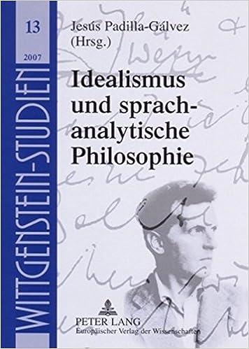 Kostenlose Downloads für Lehrbücher Idealismus und sprachanalytische Philosophie (German Edition) iBook 3631560753