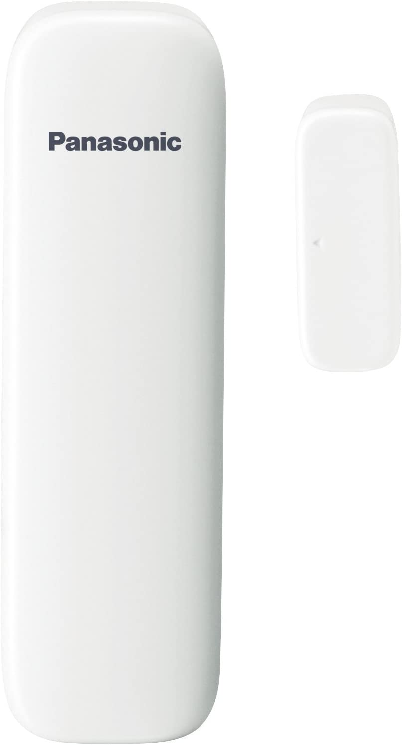 Panasonic KX-HNS101W Wireless Window/Door Sensor for Smart Home Monitoring System (White)