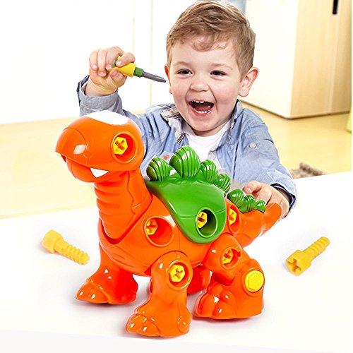 Brachiosaurus Toy Take Apart Dinosaur Green stem Toys Learning DIY Take Apart Fun Construction Engineering Building Play Set for Boys Girls Toddlers Gift Kids Ages