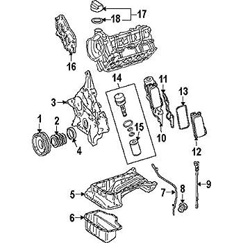 Amazon Com Mercedes Benz 112 010 06 28 Engine Oil Pan Automotive