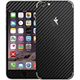 XGear EXO Skin Protective Vinyl Film for iPhone 6 Plus (Black Carbon Fiber)