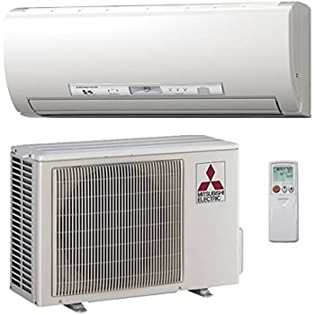 12,000 Btu 26.1 Seer Mitsubishi Single Zone Ductless Mini Split Hyper H2i Heat Pump