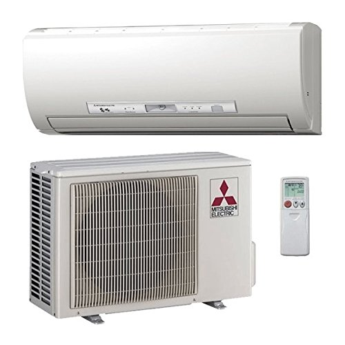 Mitsubishi 12,000 Btu 26.1 Seer Single Zone Ductless Mini Split Hyper H2i Heat Pump