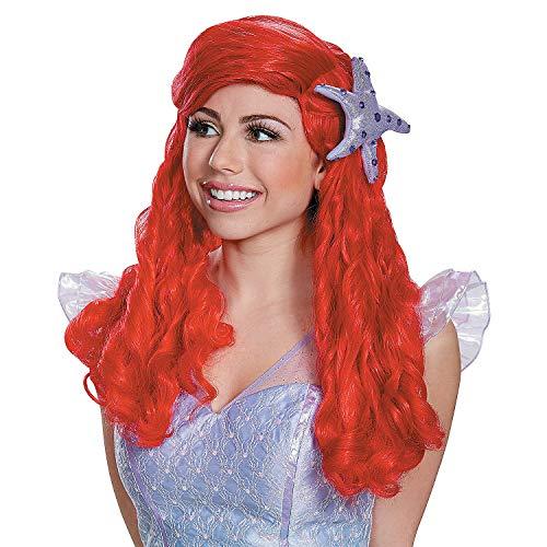 Fun Express - Ariel Prestige Adult Wig for Halloween - Apparel Accessories - Costume Accessories - Wigs & Beards - Halloween - 1 Piece ()