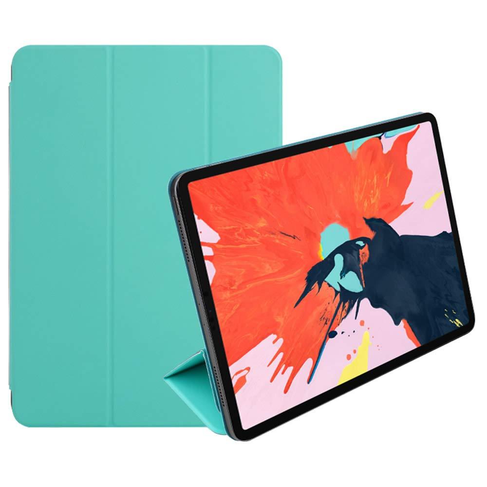 宅配 iPad Pro 12.9インチ2018用Pinhenケース - スリムで軽量のスマートフォリオシェル3つ折りスタンドカバー Pro B07KVJS375、サポート磁気/マグネット付き強力な磁気吸着(磁気ミント) iPad B07KVJS375, 沢内村:50418abb --- a0267596.xsph.ru