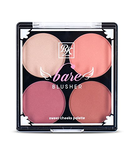 Ruby Kisses Bare Blusher Sweet Cheeks Palette (RKB01 Baring Bare)
