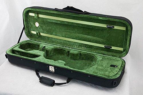 Violin Oblong Lightweight Hygrometer Black