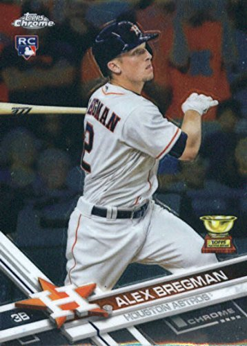 2017 Topps Chrome #9 Alex Bregman Houston Astros Rookie Baseball Card