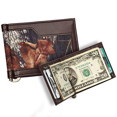 Men's Mossy Oak Breakup Casual Series Bi-Fold Wallet with Camo -