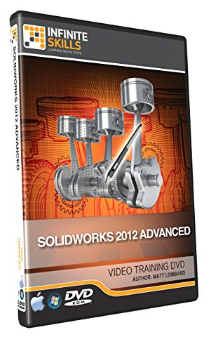 Advanced Solidworks 2012 - Training DVD - Tutorial Video