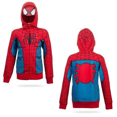 incontrare 50f17 fd91e Spider-man Felpa con cappuccio Bambini in Red - Età 7 ...