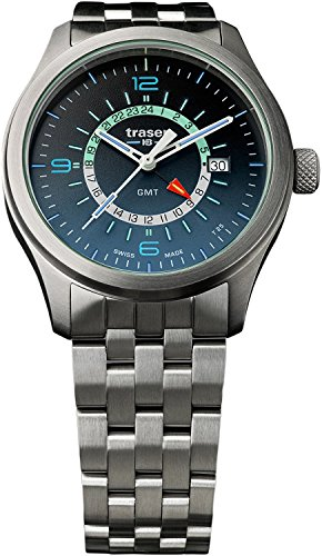 traser watch H3 Aurora GMT Date 9031574 Men's