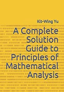 amazon com principles of mathematical analysis international rh amazon com Pugh Template Pugh Matrix Risk