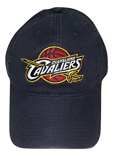Cleveland Cavaliers Adjustable Logo Cap, Choose Team Color (Navy) (Cleveland Cavaliers Logos)