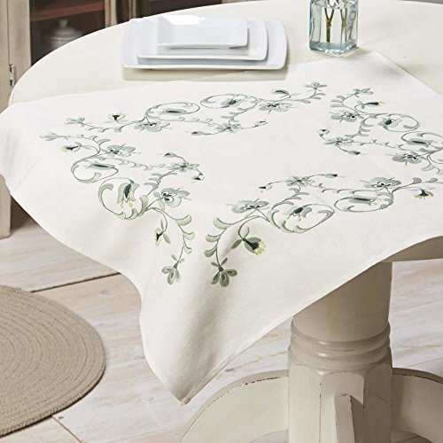 (Herrschners® Mirage Table Topper Stamped Embroidery Kit)