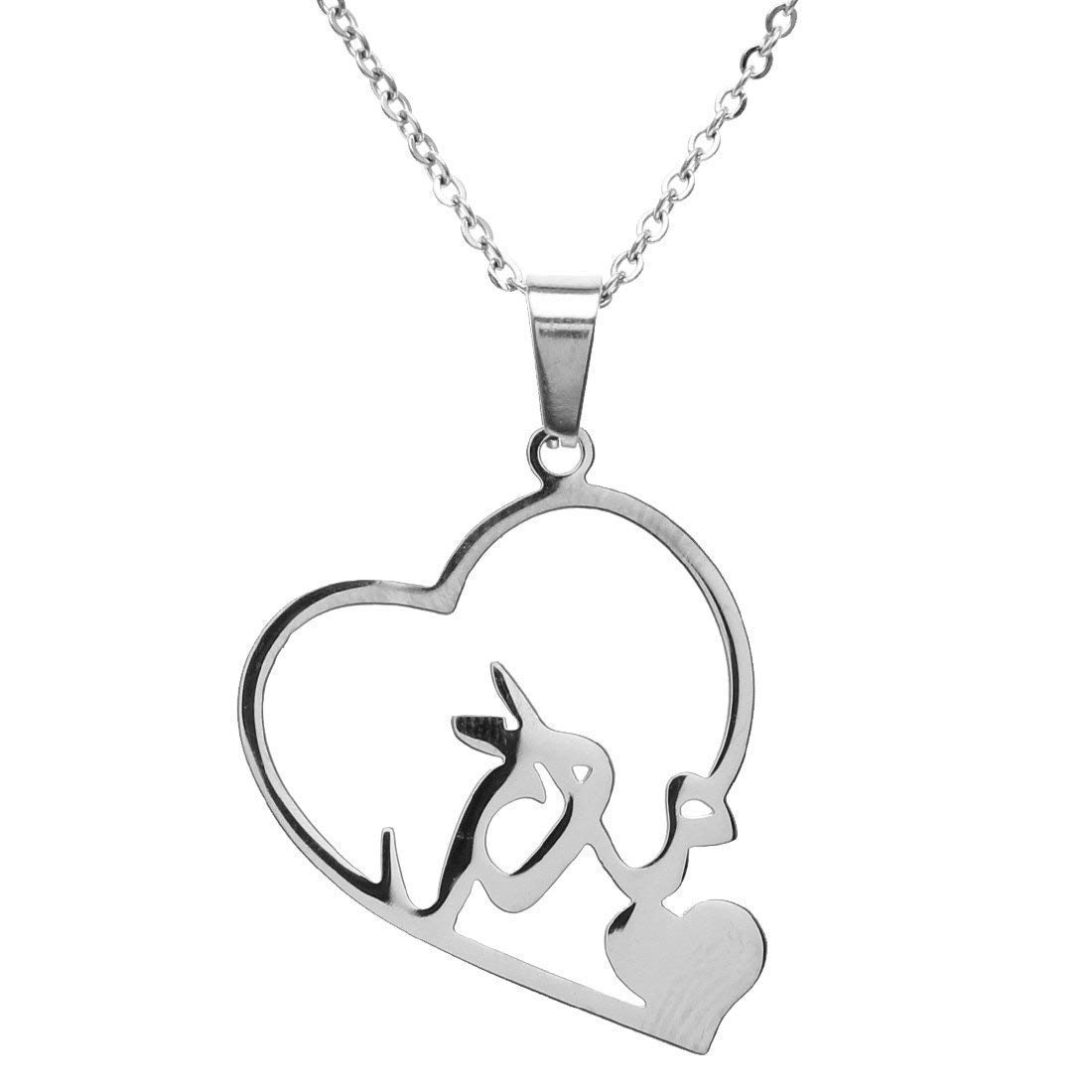 925 Sterling SILVER Personalized FARSI TWO-Names Necklace ANY 2 names PERSIAN