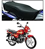 Vheelocity 72533 Black Motorcycle Seat Cover for Hero Splendor+