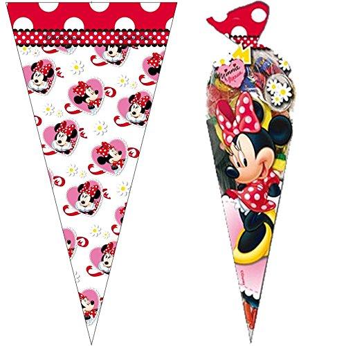 10 bolsas de fiesta * Minnie Mouse * De Disney//cono//para ...