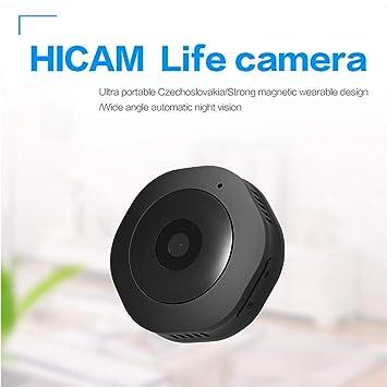 LEDU WiFi Mini Ocultos Espía Wireless Cámara IP 1080P HD Cámara De Vigilancia De Seguridad con Visión Nocturna, Detección De Movimiento para iPhone/Android ...