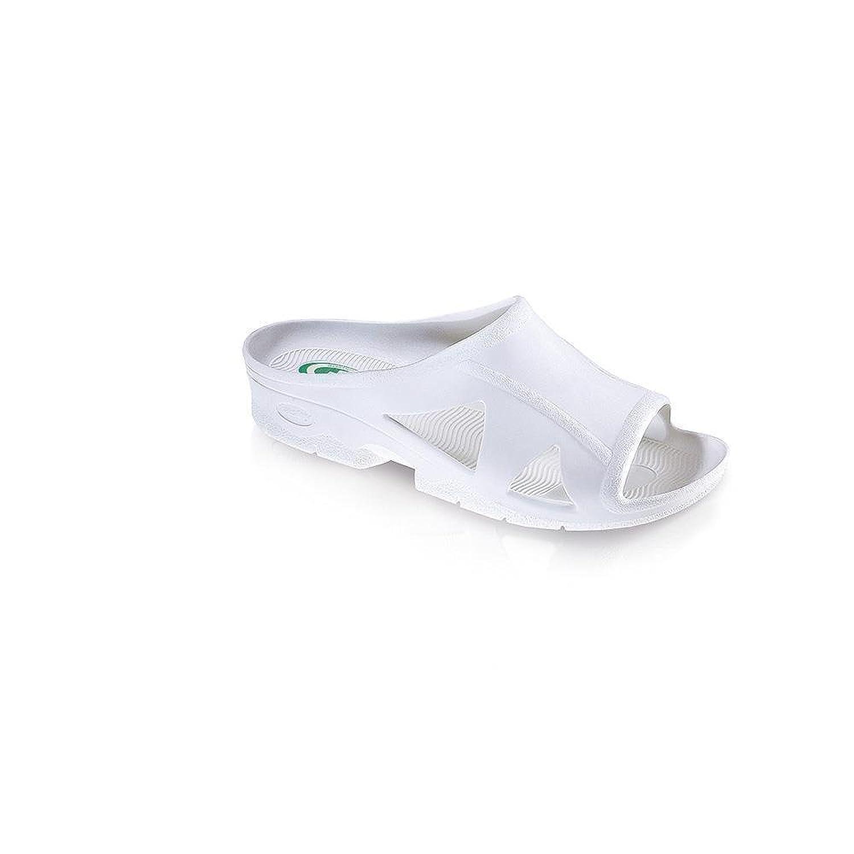 Fashy Damen Bio-Slipper Hygiene Sandale mit Leichtem Absatz Antibakteriell Rutschhemmend  40 EU
